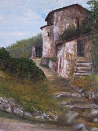 Rustico di Vicopisano in Toscana